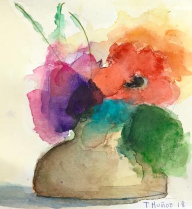 Jardines Imaginarios XXIII|PinturadeTeresa Muñoz| Compra arte en Flecha.es