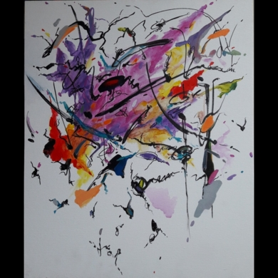 Un Sospiro - Franz Liszt|PinturadeValeriano Cortázar| Compra arte en Flecha.es
