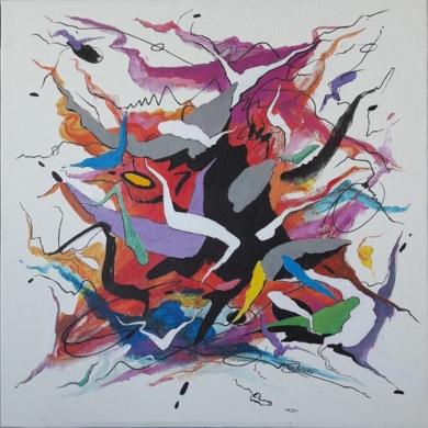 Serenade - Schubert|PinturadeValeriano Cortázar| Compra arte en Flecha.es