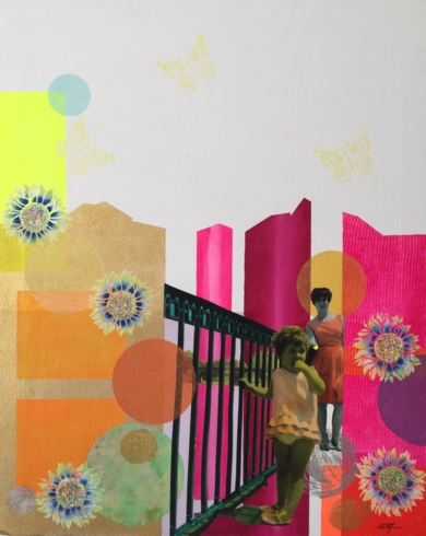 Mirar|CollagedeOlga Moreno Maza| Compra arte en Flecha.es