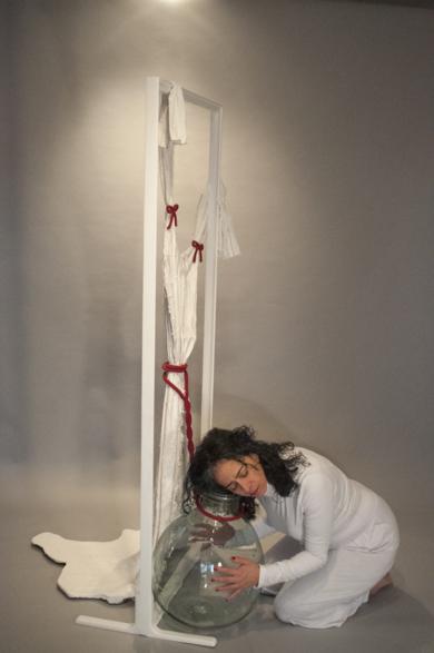 Damigiana Piangente|EsculturadePatricia Glauser| Compra arte en Flecha.es