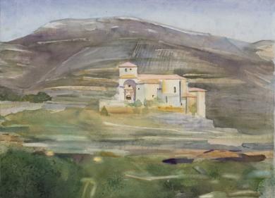Vieja Castilla|PinturadeIgnacio Mateos| Compra arte en Flecha.es