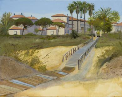 Dunas en Isla Canela|PinturadeIgnacio Mateos| Compra arte en Flecha.es