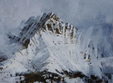 Montaña en Panticosa PinturadeCalo Carratalá  Compra arte en Flecha.es