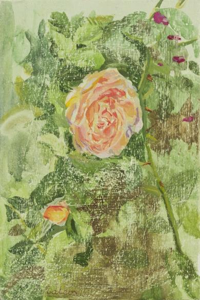 Rosas 1|PinturadeIgnacio Mateos| Compra arte en Flecha.es