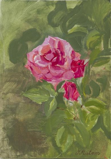 Rosas 2|PinturadeIgnacio Mateos| Compra arte en Flecha.es