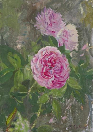 Rosas 3|PinturadeIgnacio Mateos| Compra arte en Flecha.es