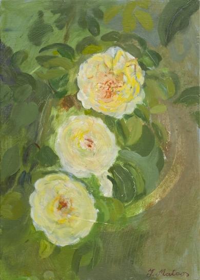 Rosas 6|PinturadeIgnacio Mateos| Compra arte en Flecha.es