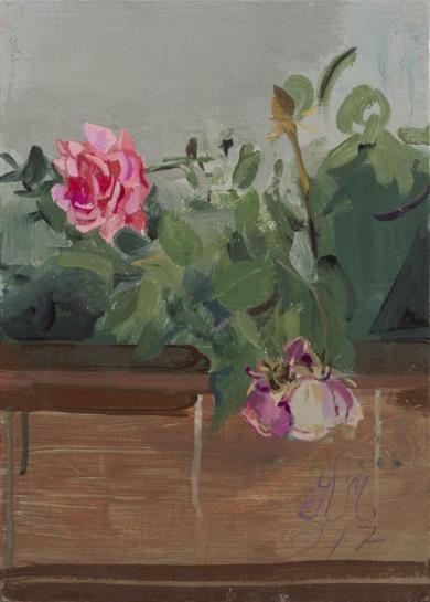 Rosas 7|PinturadeIgnacio Mateos| Compra arte en Flecha.es