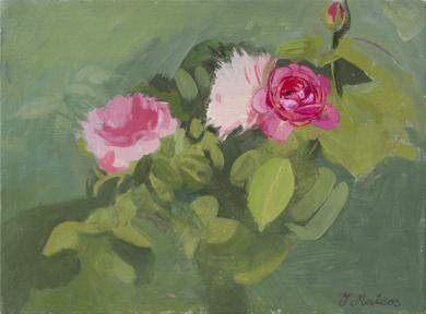 Rosas 8|PinturadeIgnacio Mateos| Compra arte en Flecha.es