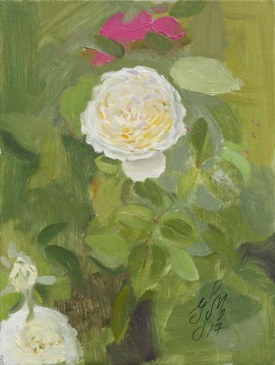 Rosas 10|PinturadeIgnacio Mateos| Compra arte en Flecha.es