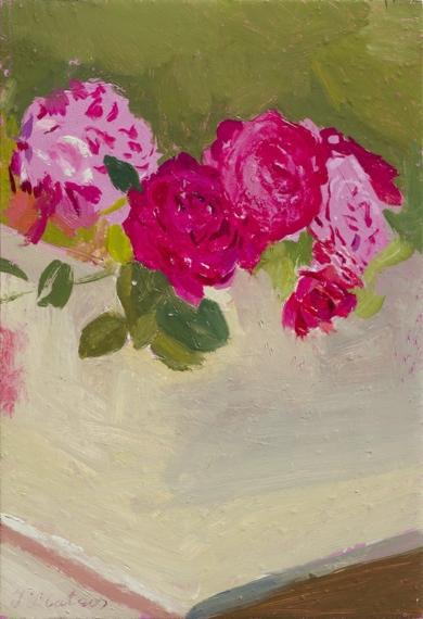 Rosas 14|PinturadeIgnacio Mateos| Compra arte en Flecha.es