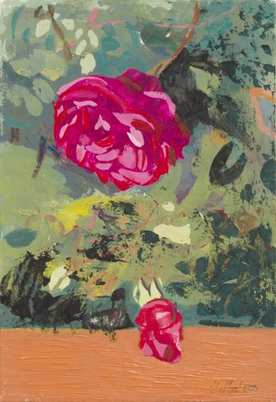Rosas 18|PinturadeIgnacio Mateos| Compra arte en Flecha.es