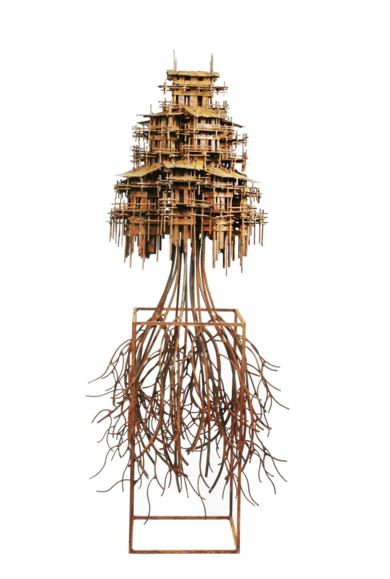 ALDEAS CRECIENTES|EsculturadeFernando Suárez| Compra arte en Flecha.es