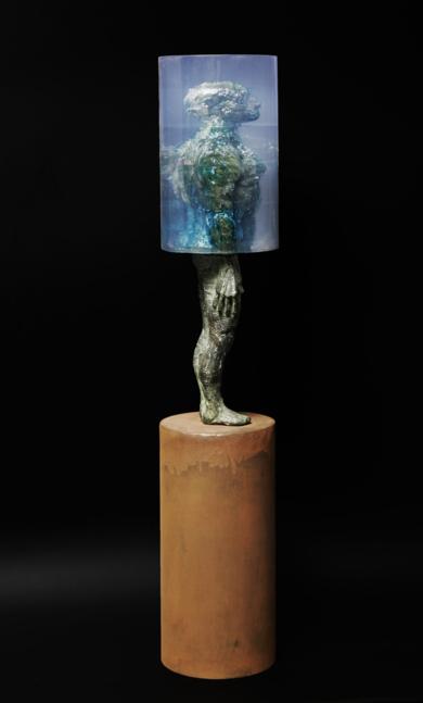 CILÍNDRICA|EsculturadeFernando Suárez| Compra arte en Flecha.es