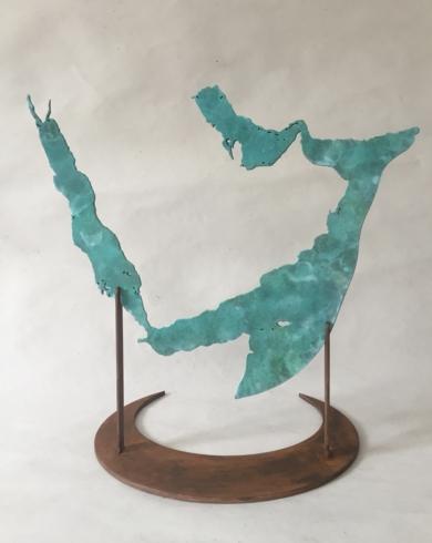 MAR ROJO Y GOLFO PÉRSICO|EsculturadeJaelius Aguirre| Compra arte en Flecha.es