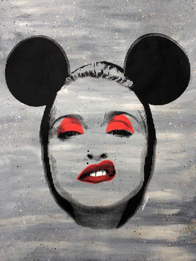 Pop Icon - Madonna  ( Grey)|PinturadeSilvio Alino| Compra arte en Flecha.es
