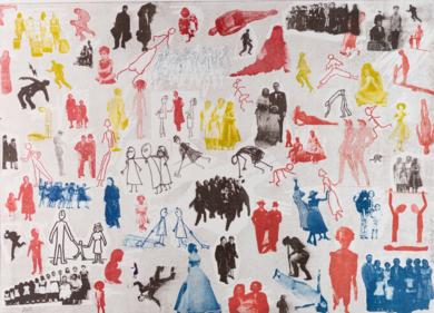 Personas|Obra gráficadeAna Valenciano| Compra arte en Flecha.es