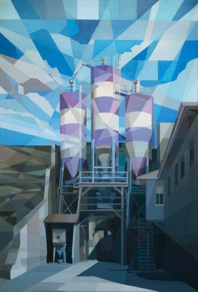 Silos|PinturadeLuis Monroy Esteban| Compra arte en Flecha.es