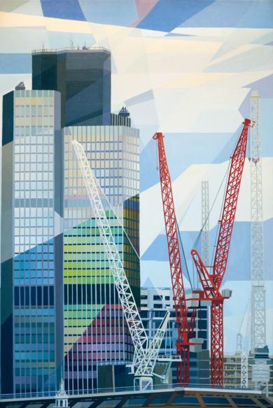 Tower 42|PinturadeLuis Monroy Esteban| Compra arte en Flecha.es