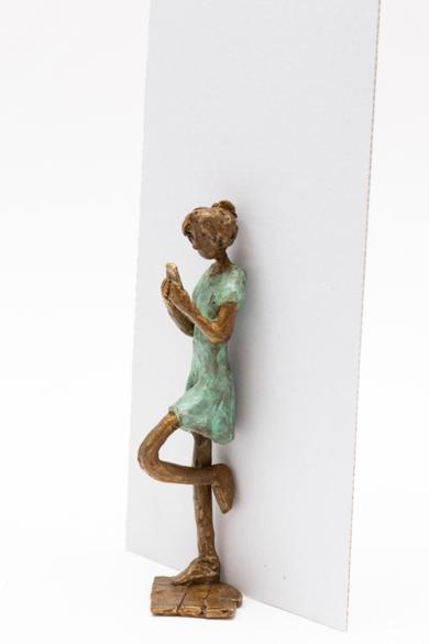 Wasapeando|EsculturadeAna Valenciano| Compra arte en Flecha.es