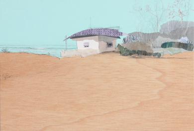 En un verano|DibujodeEduardo Query| Compra arte en Flecha.es