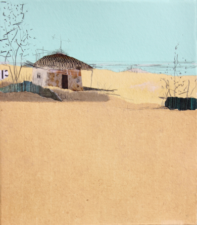Un cálido hogar al sur|CollagedeEduardo Query| Compra arte en Flecha.es