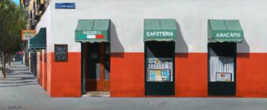 PIZZERIA I|PinturadeSaid Rajabi| Compra arte en Flecha.es