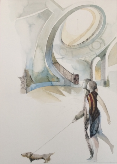 Arquitecturas|CollagedeMenchu Uroz| Compra arte en Flecha.es