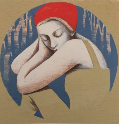 En el círculo II|PinturadeMenchu Uroz| Compra arte en Flecha.es
