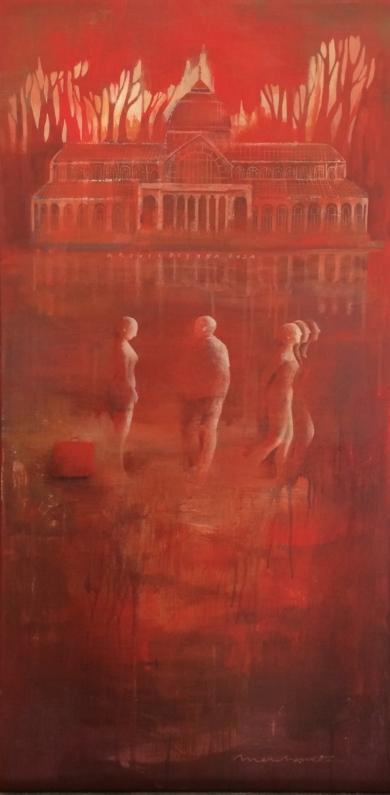 Sueños I|PinturadeMenchu Uroz| Compra arte en Flecha.es