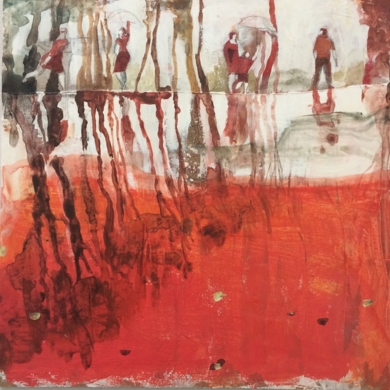 Reflejos II|PinturadeMenchu Uroz| Compra arte en Flecha.es