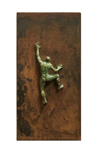 ESCALADOR XI|EsculturadeFernando Suárez| Compra arte en Flecha.es
