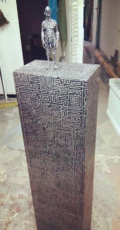 Encontré el camino II.|EsculturadeReula| Compra arte en Flecha.es