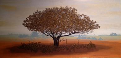 Paisaje otoñal|PinturadeCharlotte Adde| Compra arte en Flecha.es