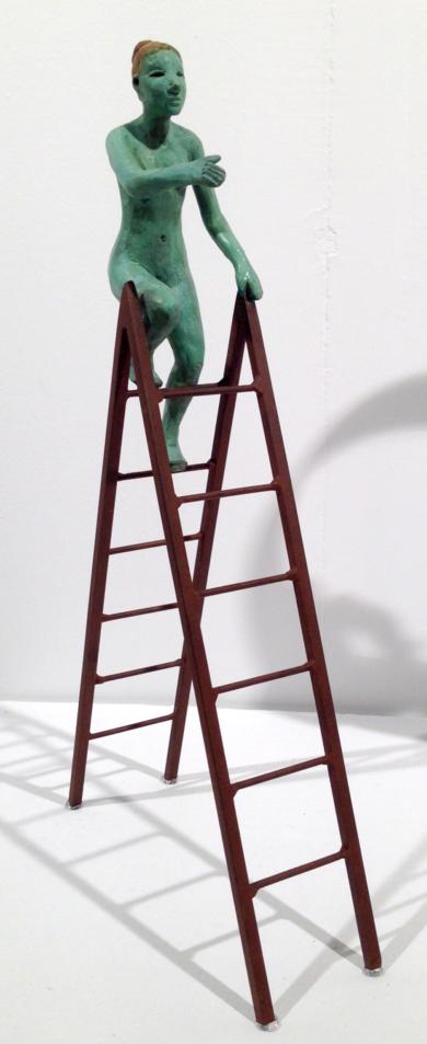 La escalera|EsculturadeCharlotte Adde| Compra arte en Flecha.es