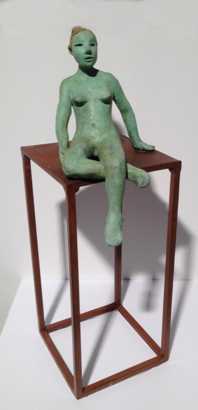 Cubo|EsculturadeCharlotte Adde| Compra arte en Flecha.es