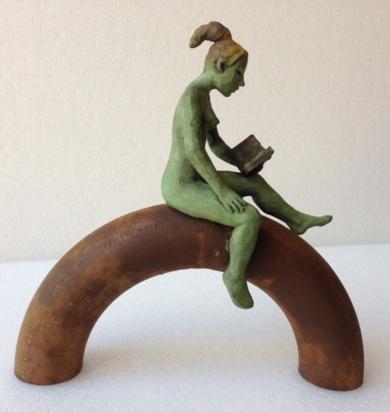 Semicirculo|EsculturadeCharlotte Adde| Compra arte en Flecha.es
