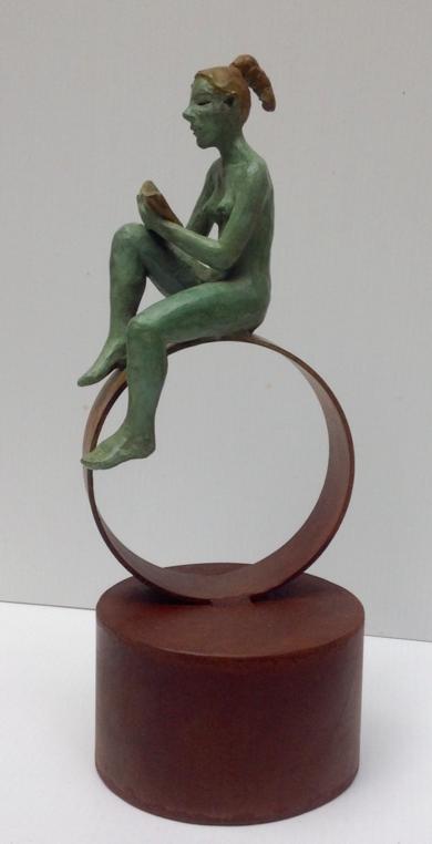 Cilindros|EsculturadeCharlotte Adde| Compra arte en Flecha.es