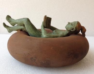 Descanso|EsculturadeCharlotte Adde| Compra arte en Flecha.es
