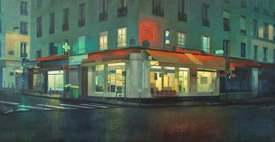 Noche en París|PinturadeOrrite| Compra arte en Flecha.es