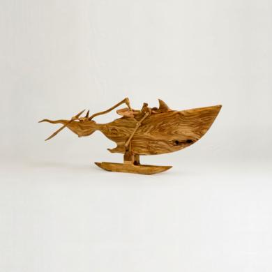 Tigre de mar|EsculturadeJose Juan Botella| Compra arte en Flecha.es