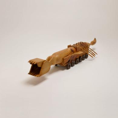 Capricornio doméstico|EsculturadeJose Juan Botella| Compra arte en Flecha.es