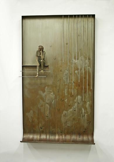 El reloj de la suerte|EsculturadeMarta Sánchez Luengo| Compra arte en Flecha.es