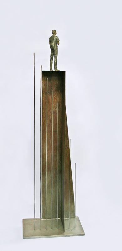 En lo alto III|EsculturadeMarta Sánchez Luengo| Compra arte en Flecha.es