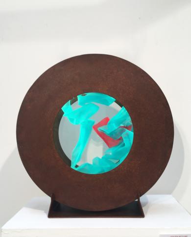 La Pausada Belleza del Movimiento Acuático IX|EsculturadeVioleta McGuire| Compra arte en Flecha.es