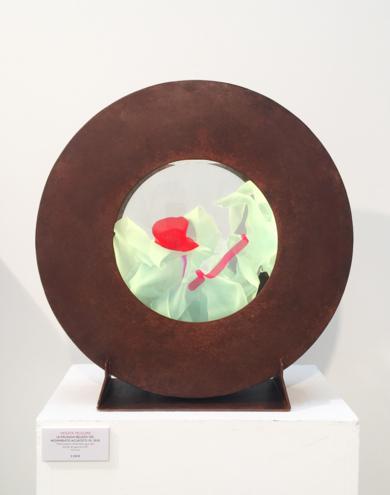 La Pausada Belleza del Movimiento Acuático VII|EsculturadeVioleta McGuire| Compra arte en Flecha.es