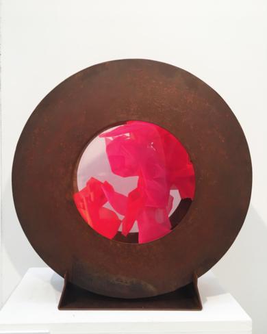 La Pausada Belleza del Movimiento Acuático V|EsculturadeVioleta McGuire| Compra arte en Flecha.es