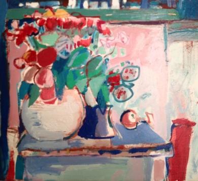 """Azules""|PinturadeCarlota Rios| Compra arte en Flecha.es"