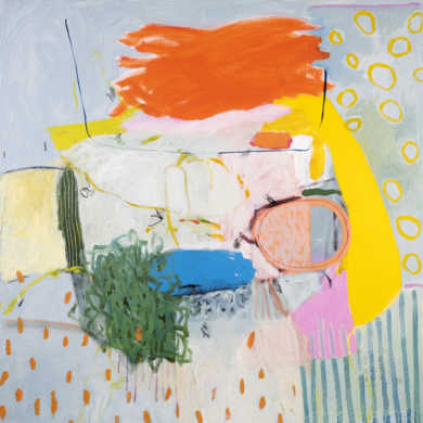 Composición Espacial 2|PinturadeAna Cano Brookbank| Compra arte en Flecha.es
